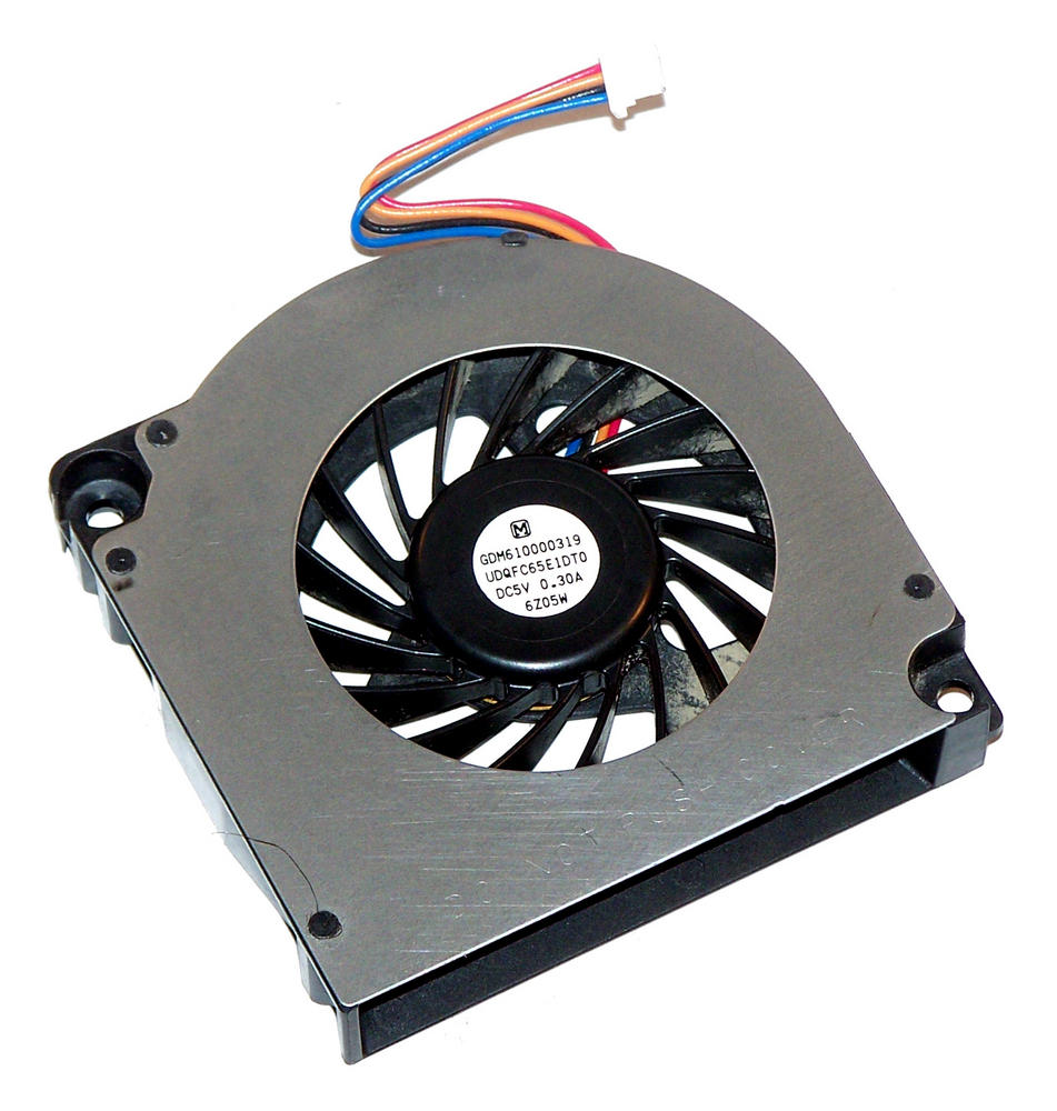 Toshiba GDM610000319 Satellite Pro A120 5VDC 0.3A 4-wire Fan | UDQFC65E1DT0